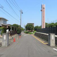 敷地への入り口(周辺)