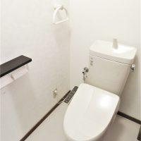 1階トイレ 新規交換済みです(内装)
