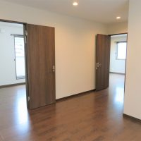 3Fの各部屋につながるスペース(内装)