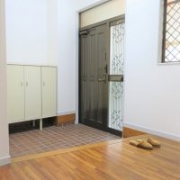 シューズボックス付玄関(玄関)